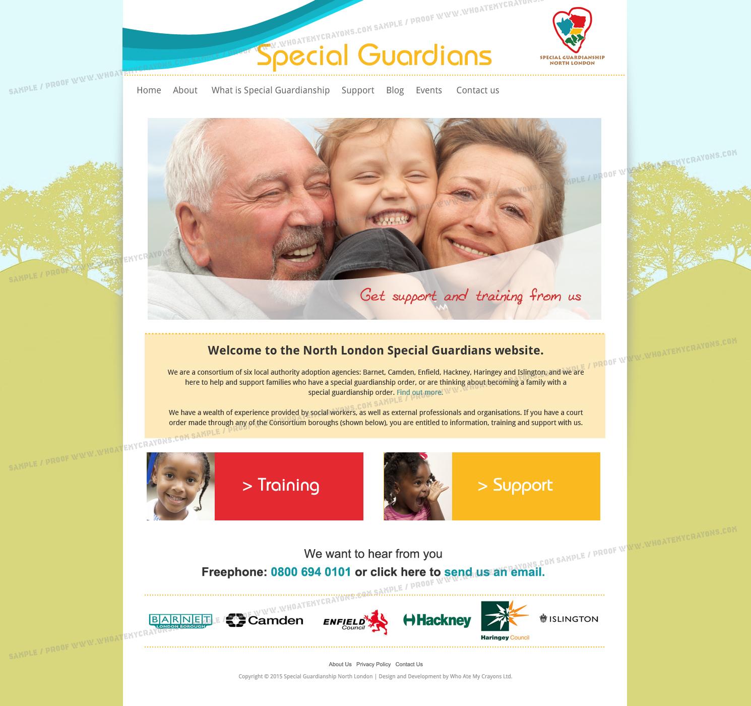 Islington Guardians Website