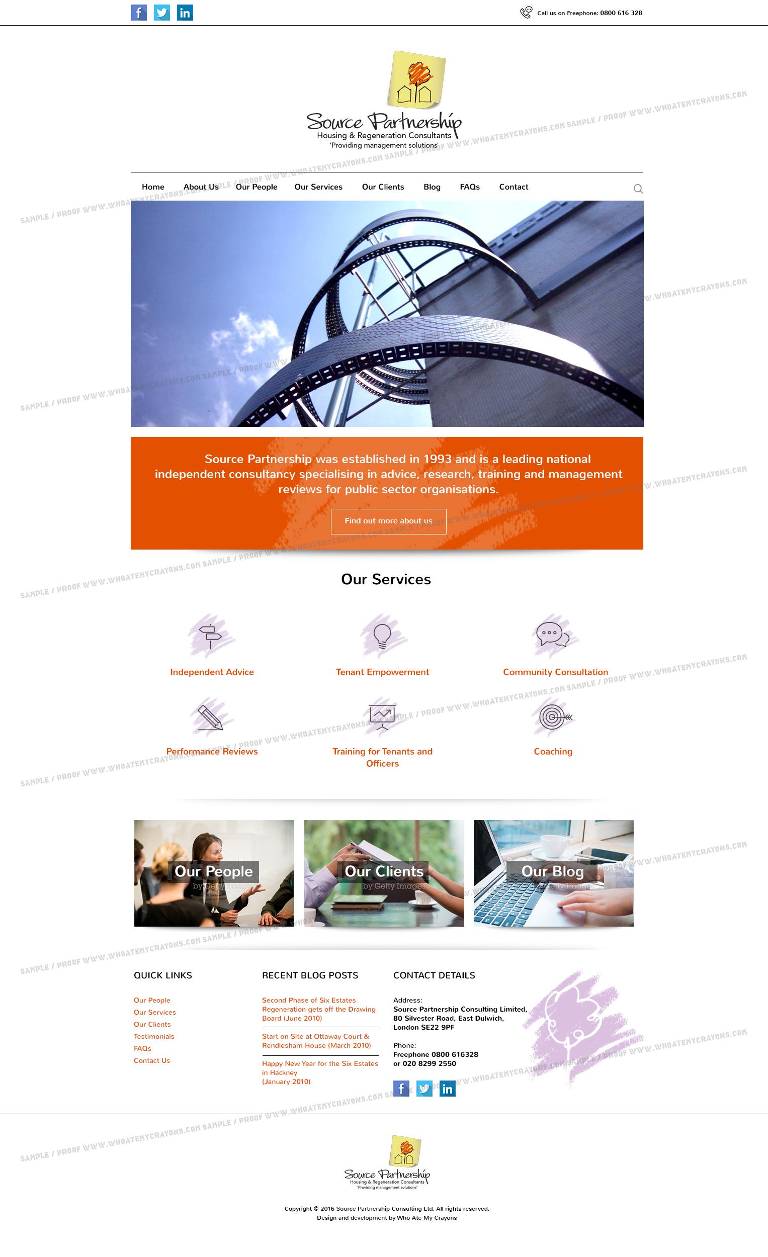 Source Partnership Website